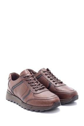 Derimod Erkek Kahverengi Deri Sneaker 2