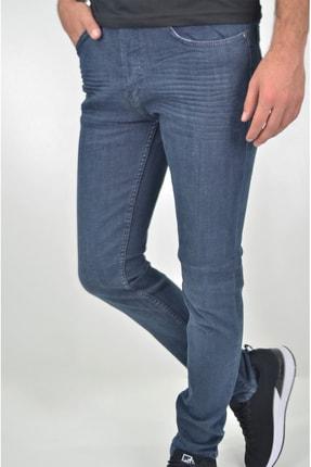 ds danlıspor Erkek Dark Blue Yıpratmasız Krinkıllı Likralı Kot Pantolon 0