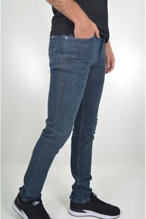 ds danlıspor Erkek Dark Blue Yıpratmasız Krinkıllı Likralı Kot Pantolon 1