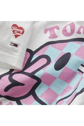 Tommy Hilfiger Kadın Beyaz T-shirt 1