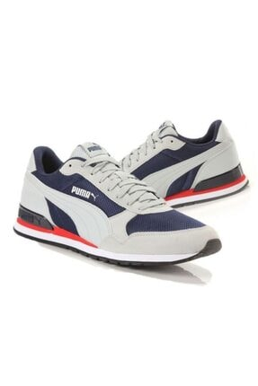 Puma 366811st Runner Buz Lacivert Erkek Spor Ayakkabı 4