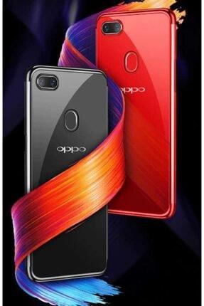 Zore Oppo Ax7 Kılıf Dört Köşeli Lazer Silikon 1