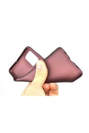 Dijimedia Galaxy A71 Kılıf Zore Premier Silikon Mürdüm 1