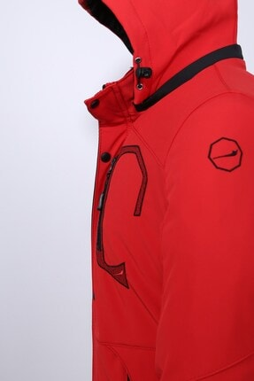Delpino Erkek Kırmızı Softshell Mont 1