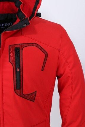 Delpino Erkek Kırmızı Softshell Mont 2