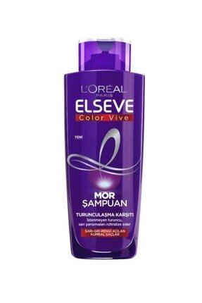 Elseve Renk Koruyucu Bakım Şampuan 450 Ml & Turunculaştırma Karşıtı Mor Şampuan & Mor Maske 1
