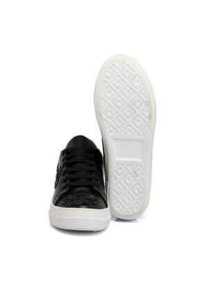 Tergan Kadın Siyah Tekstil  Ayakkabı 64258d62 3