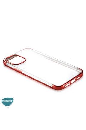 Microsonic Apple Iphone 12 Pro Max Kılıf Skyfall Transparent Clear Gold 3