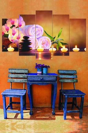 Luna Concept Masaj ve Güzellik Salonu 5 Parçalı Mdf Tablo 0