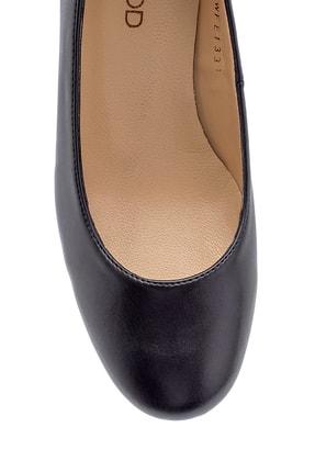 Derimod Kadın Siyah  Kalın Topuklu Ayakkabı 3