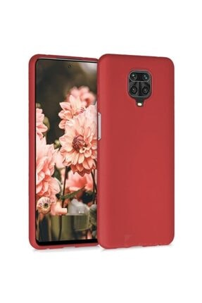 Telefon Aksesuarları Redmi Note 9s - Note 9 Pro - Max Yumuşak Silikon Kılıf Kırmızı 0