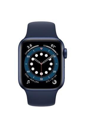 Apple Watch Series 6 Gps 40 Mm Mavi Alüminyum Kasa Ve Koyu Lacivert Spor Kordon 1