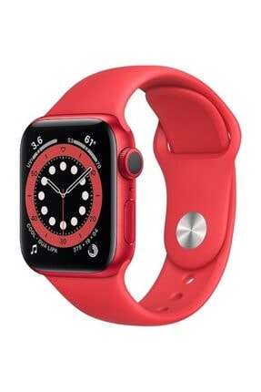 Apple Watch Series 6 Gps 40 Mm (product)red Alüminyum Kasa Ve (product)red Spor Kordon 0