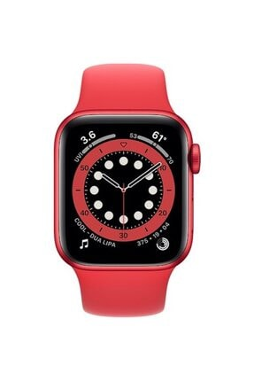 Apple Watch Series 6 Gps 40 Mm (product)red Alüminyum Kasa Ve (product)red Spor Kordon 1