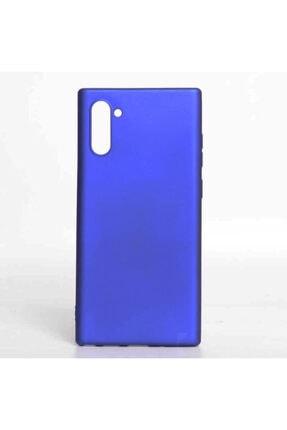 Samsung Galaxy Note 10 Yumuşak Silikon Kılıf Mavi 2