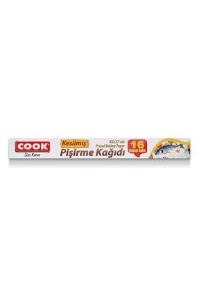 COOK Kesilmış Yağlı Pişirme Kağıdı 16 Yaprak 0
