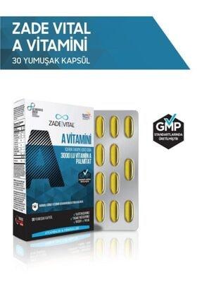 Zade Vital A Vitamini 30 Yumuşak Kapsül - Blister 0