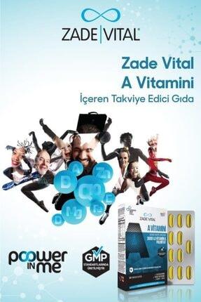 Zade Vital A Vitamini 30 Yumuşak Kapsül - Blister 1