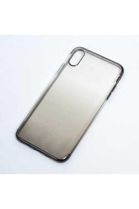 Zore Apple Iphone Xs Max 6.5 Kılıf Zore Moss Silikon Gold 4
