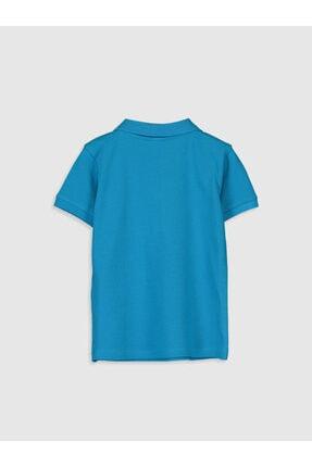 LC Waikiki Erkek Bebek Turkuaz T-Shirt 1