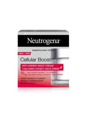 Neutrogena Cellular Boost Yaşlanma Karşıtı Gece Kremi - 50 Ml 0