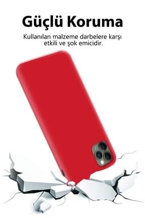 Prasmet Apple Iphone 11 Pro Max Kılıf Lansman Model Iç Yüzey Microfiber Yumuşak 4