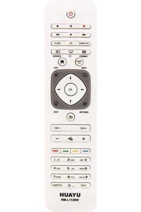 Philips Rm-l1128w Beyaz 3d Lcd Plazma Led Tv Kumandası 0