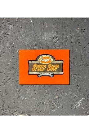 Kasaba Dükkan Speed Shop Tasarım Kasaba El Yapımı Plaka Tablo 0
