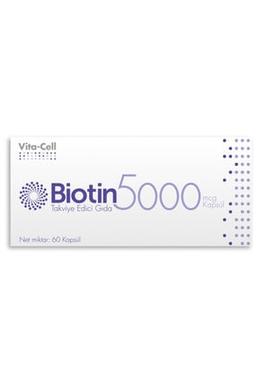 Radix Vita-cell Biotin 5000 Mcg 60 Kapsül 0