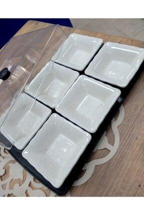 Yiğit Seramik Züccaciye Simli Model Kahvaltı Takımı 1