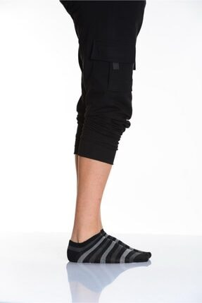 Lateks Çorap Idilfashion 3lü Çemberli Düz Karışık Erkek Patik Çorabı 2