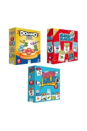 CA Games 3'lü Eğitici Aile Oyunu Seti (5080-10015-5103) Ca.5080-10015-5103 0