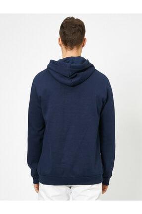Koton Erkek Lacivert Sweatshirt 0KAM71012CK 1