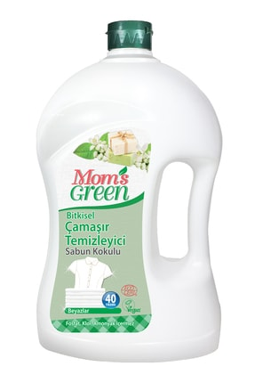 Mom's Green Bitkisel Çamaşır Deterjanı 2 Lt - Sabun Kokulu Eco 0
