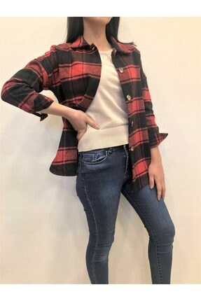 Giyshe Kadın Oduncu Gömlek 1