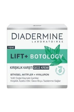 Diadermine Lift + Botology Kırışıklık Karşıtı Gece Kremi 50 Ml 0