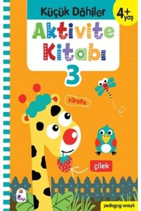 İndigo Kitap Küçük Dahiler Aktivite Kitabı 3 - 4+ Yaş 0