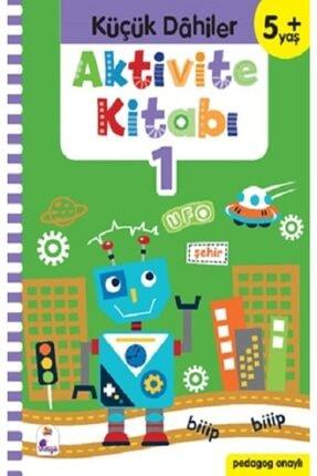 İndigo Kitap Küçük Dahiler Aktivite Kitabı 1 - 5+ Yaş Pedagog Onaylı 0