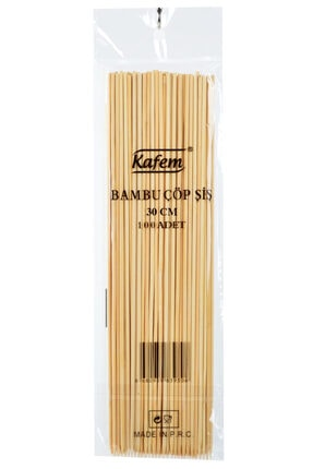 KAFEM Bambu Çöp Şiş 30 Cm 50 Pk X 100 Adet - 0