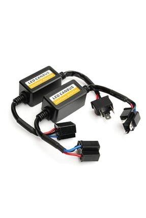 Techmaster H4 Soket Canbus Arıza Işığı Dekoder Söndürücü 2 Adet 1