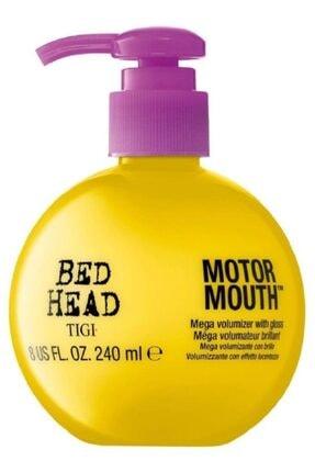 Tigi Bed Head Ince Telli Saçlar Için Durulanmayan Hacimlendirici Parlaklık Kremi Motor Mouth 240 Ml 615908424225 0