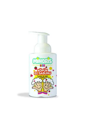 Minoris Kids Organik Köpük Sabun 300ml Karpuz Çilek Kokulu 0
