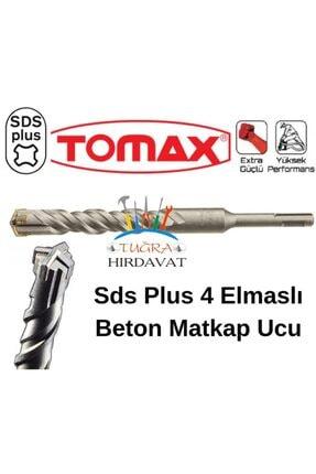 Tomax Sds Plus 4 Elmas Beton Duvar Delme Matkap Ucu 9x210 0