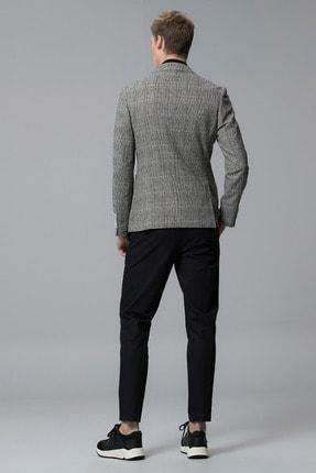 Lufian Procida Spor Blazer Ceket Slim Fit Siyah 4