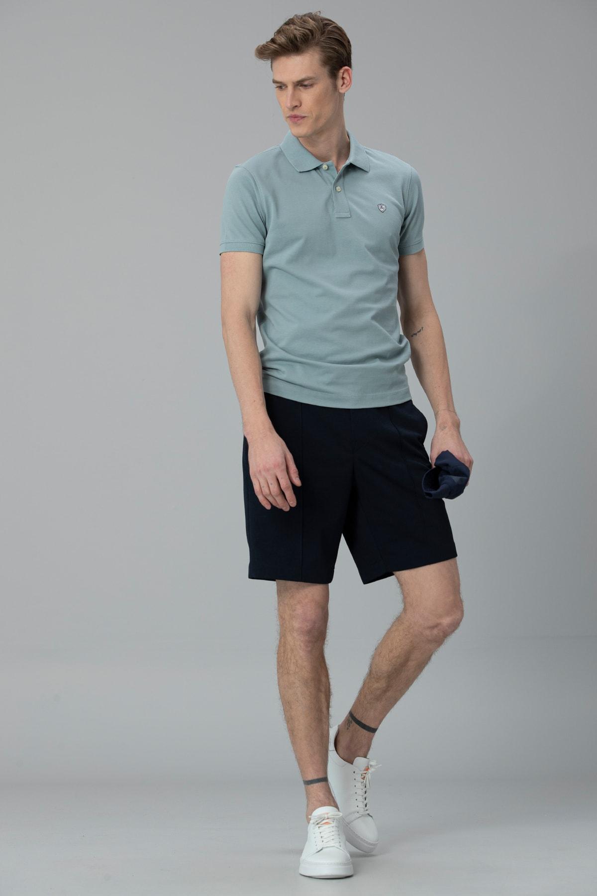 Lufian Laon Spor Polo T- Shirt Nane Yeşili 0