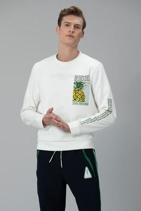 Picture of Arkan Sweatshirt Kırık Beyaz