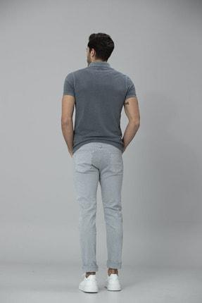Lufian Kropi Spor 5 Cep Pantolon Slim Fit Gri 4