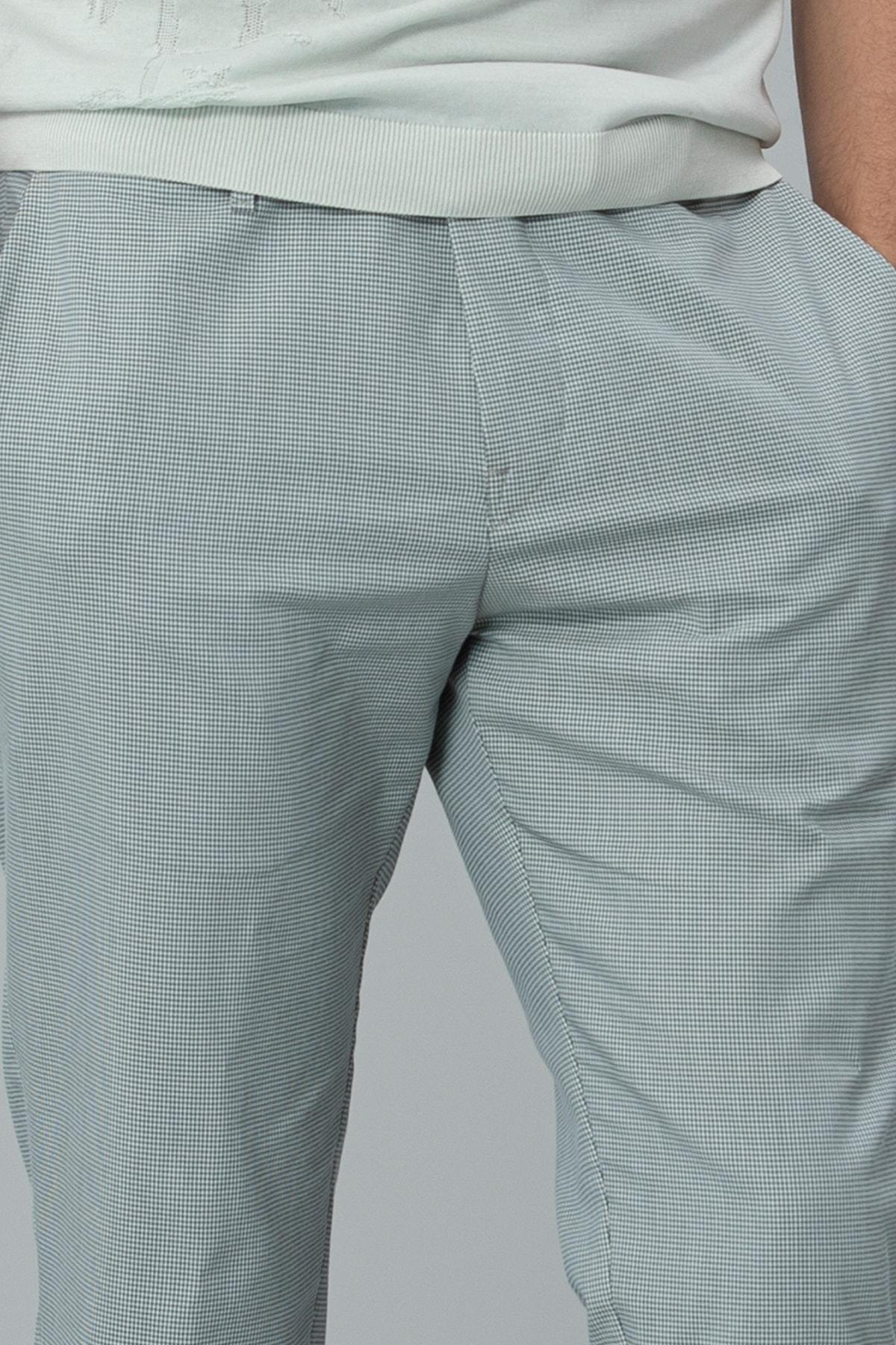 Lufian Klosi Spor Chino Pantolon Tailored Fit Yeşil 1
