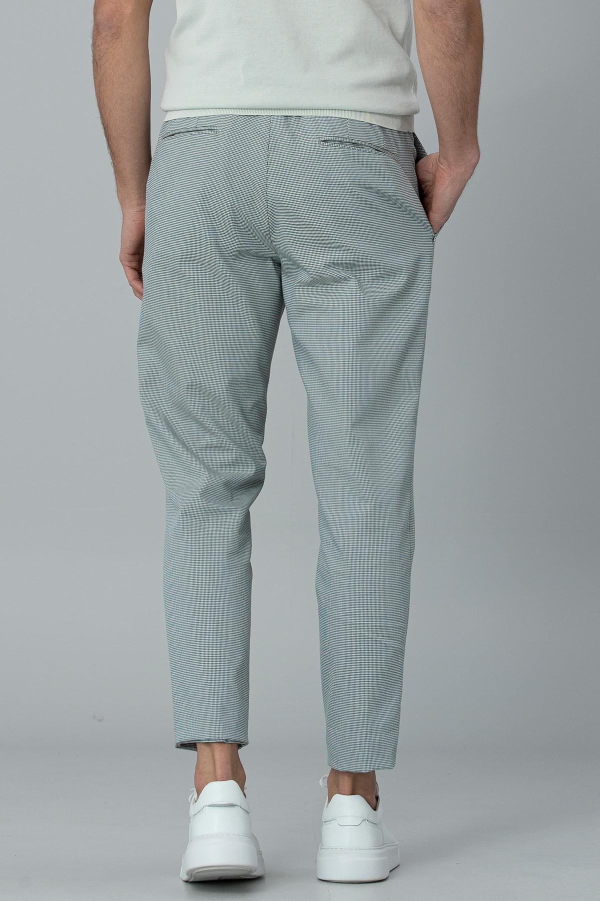 Lufian Klosi Spor Chino Pantolon Tailored Fit Yeşil 4