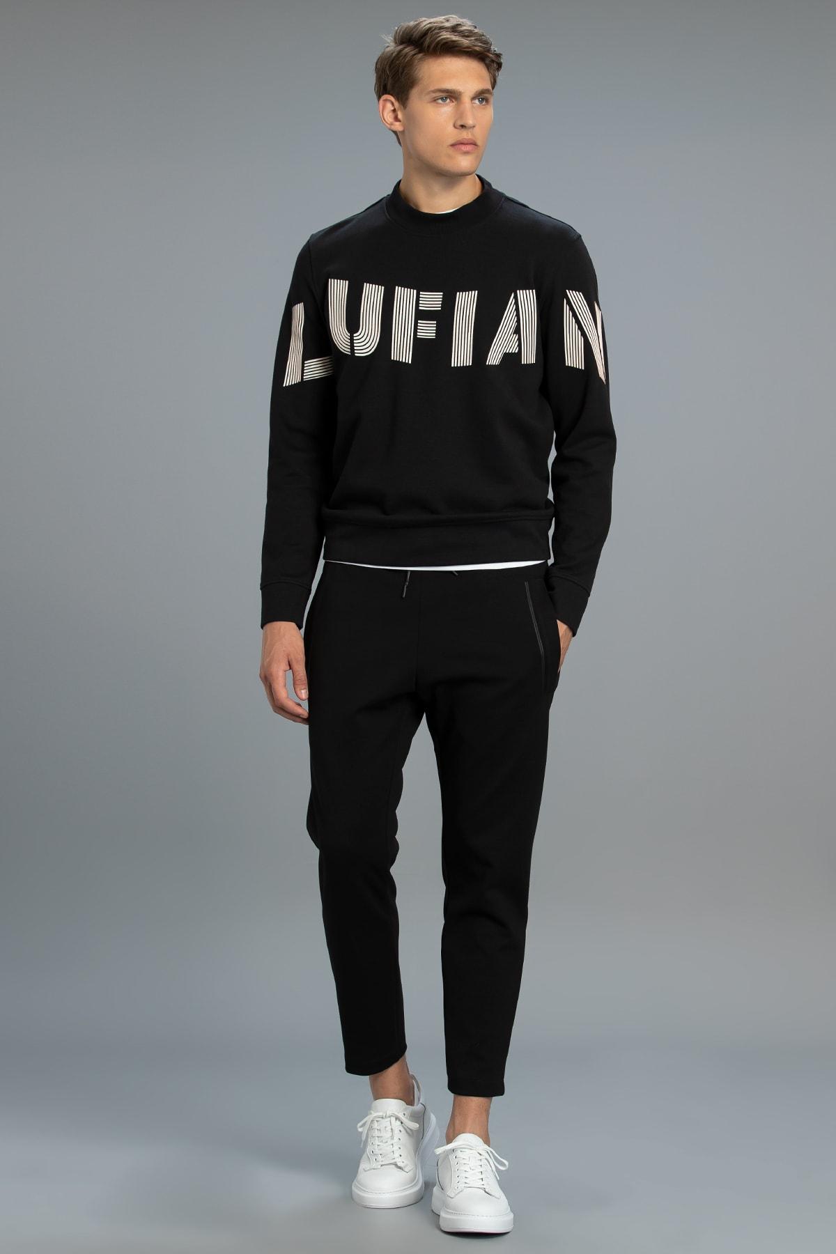 Lufian Todillo Sweatshirt Siyah 0